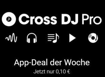 """Google Play: """"Cross DJ Pro"""" jetzt für nur zehn Cent im Angebot https://www.discountfan.de/artikel/tablets_und_handys/google-play-cross-dj-pro-jetzt-fuer-nur-zehn-cent-im-angebot.php Die """"Nummer 1 DJ App für Android"""" ist jetzt bei Google Play zum symbolischen Preis von zehn Cent zu haben. """"Cross DJ Pro"""" kommt in über 4000 Rezensionen auf 4,5 von fünf Sterne. Google Play: """"Cross DJ Pro"""" jetzt für nur zehn Cent im Angebot (Bild: Google"""