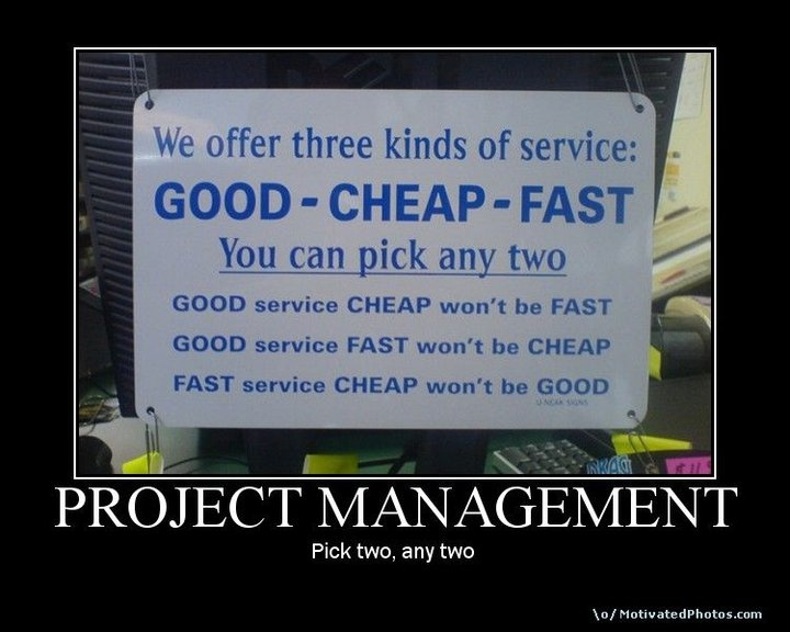 project management quotes funny