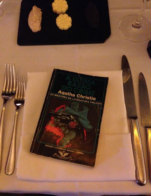 Food for the brain in BOOK restaurant... yum yum!
