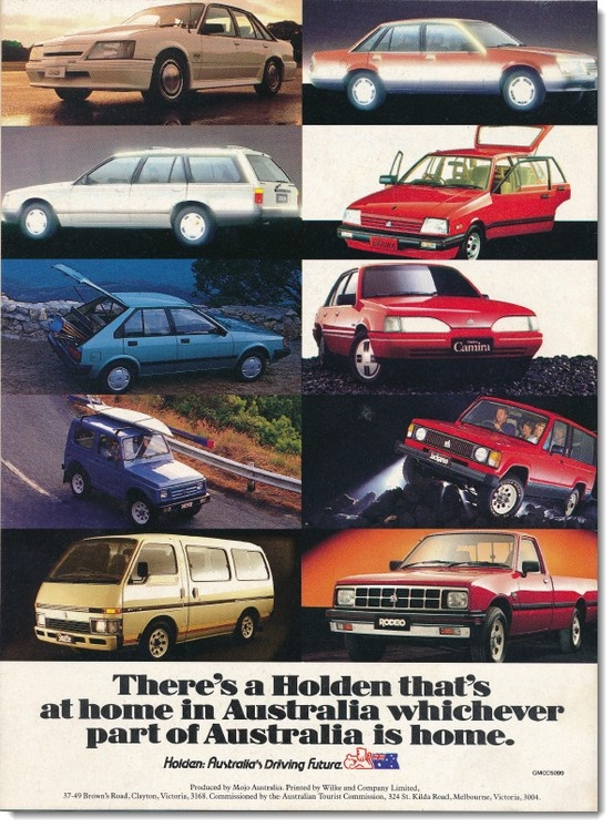 Advertisement from 1985