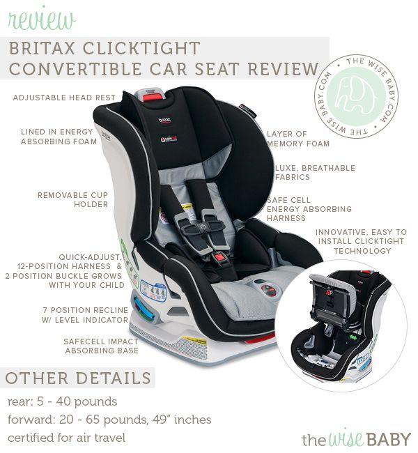 Britax Car Seat P