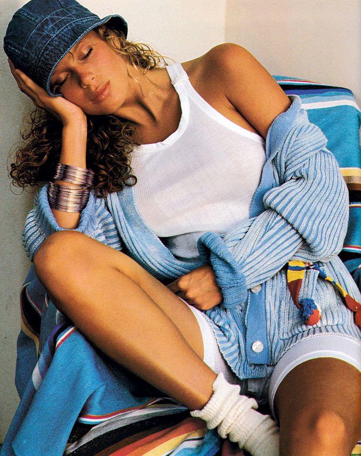 Rachel Hunter 1988 #supermodels #vintage #glamour #retro #nostalgia #1980s #1990s