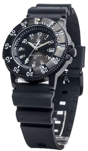 Smith Wesson Military Tactical Tritium Watch Nylon Rubber Strap Included | eBay