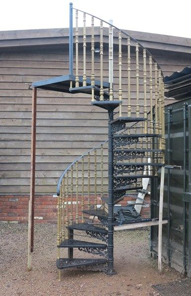 Best Traditional Black Cottage Craft Cast Metal Spiral 400 x 300