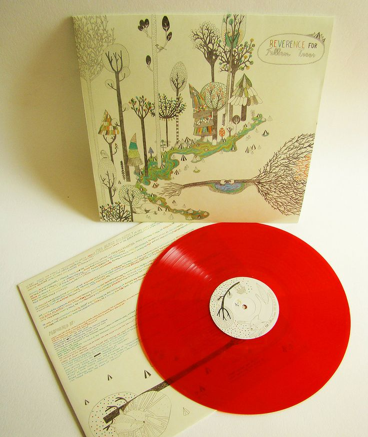 "The Black Atlantic — ""Reverence for Fallen Trees"" LP on red vinyl"