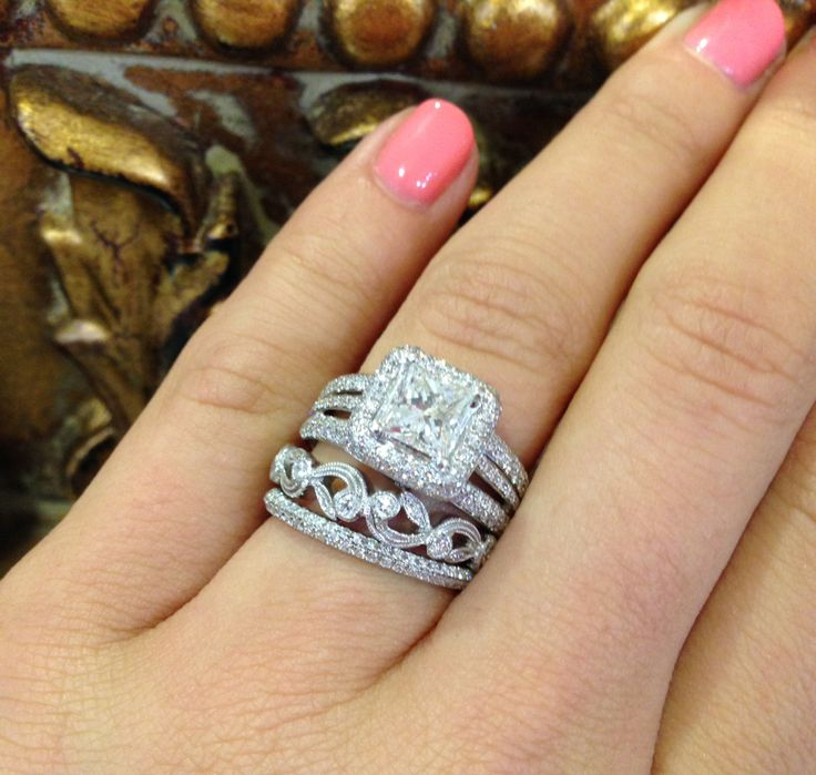 Stacking wedding bands available for purchase at sissy 39 s for Sissy s log cabin rolex