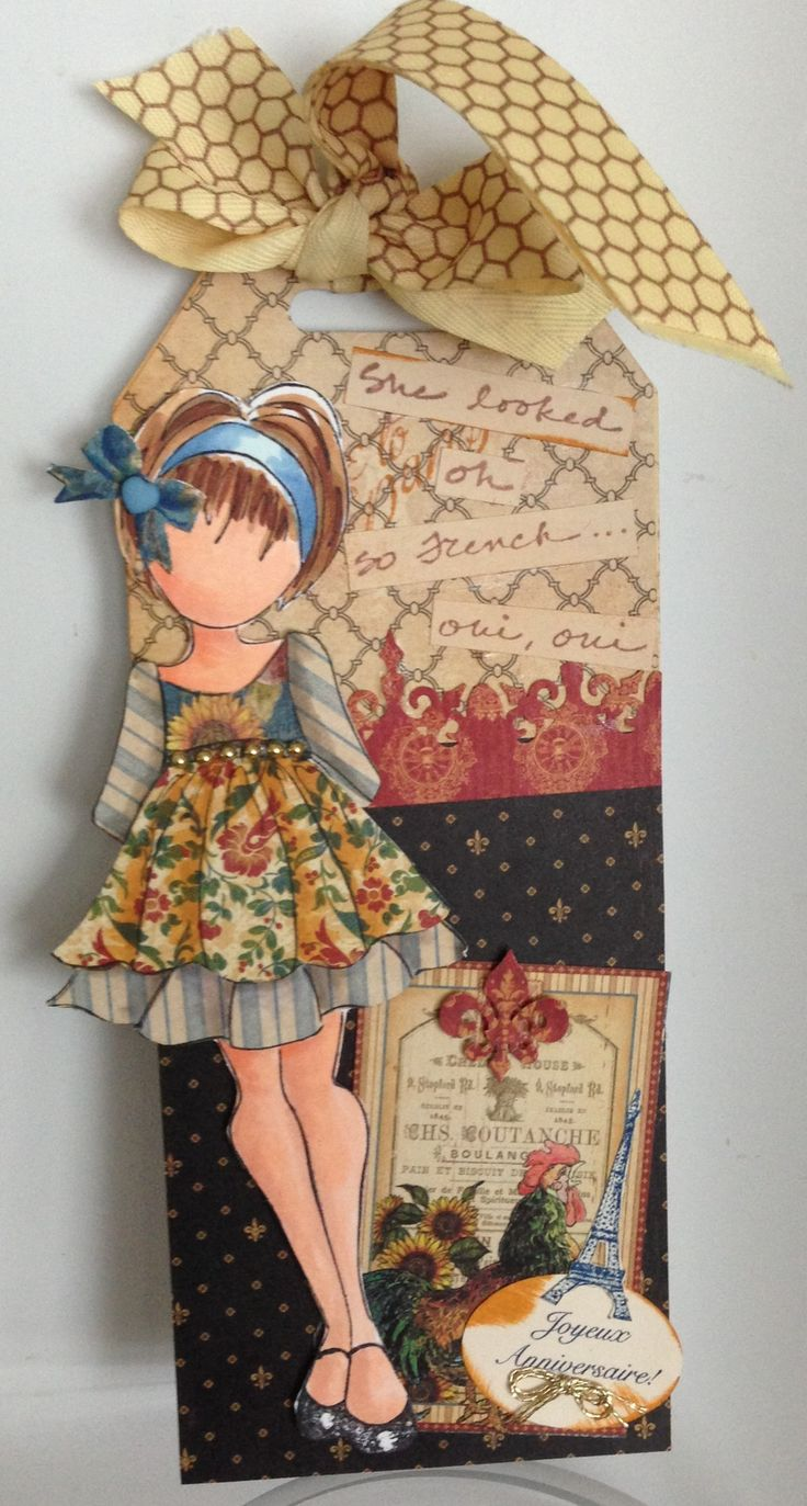 graphic 45 French country and Julie 's doll   Cards: Prima ...