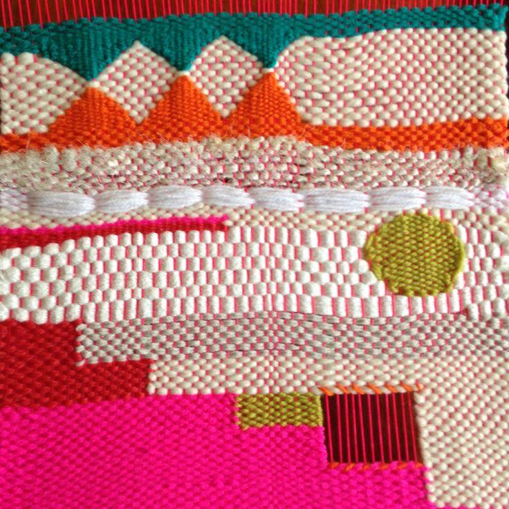 Weaving detail by Maryanne Moodie