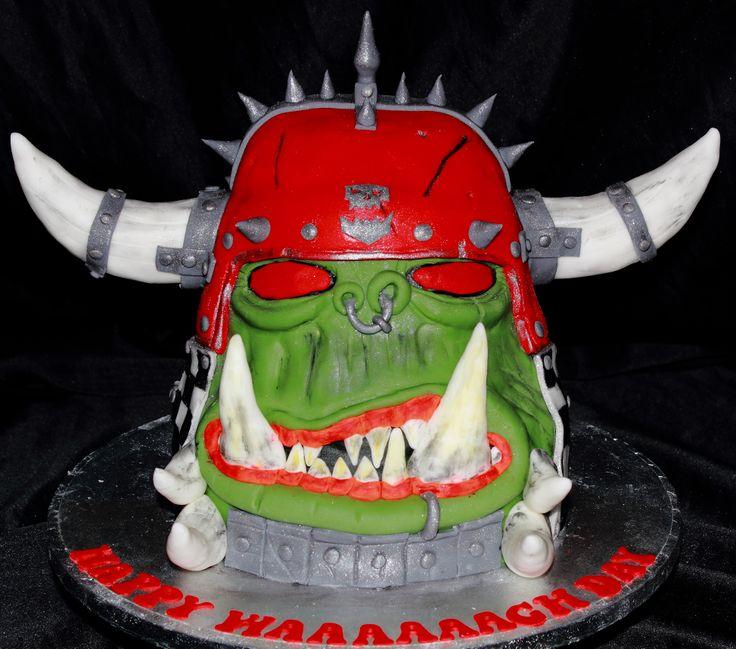 warhammer ork cake