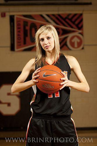 Basketball Style Senior Portraits