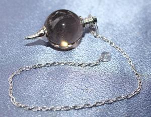 Smokey Quartz Ball Pendulum