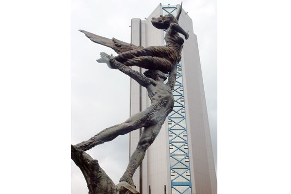 Monumento al esfuerzo armenia quindio colombia maestro rodrigo arenas betancourt.