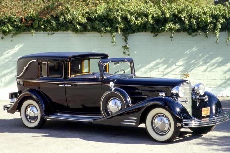 1933 V-16 Cadillac Town Car