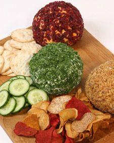 Cheese Balls Three Ways - Martha Stewart Recipes