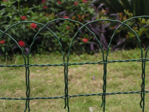 Pvc coated #green #garden #border fence  lawn edging wire mesh fencing 65cm x 10m,  View more on the LINK: http://www.zeppy.io/product/gb/2/281955104890/