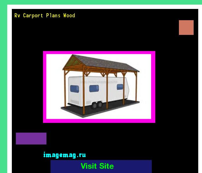 Rv Carport Plans Wood 102011 - The Best Image Search