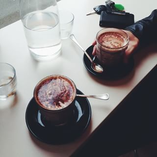 Nutella hot chocolate from Inside Cafe, Launceston, Hobart | 19 Nutella Dishes Australia Obsessed Over In 2015