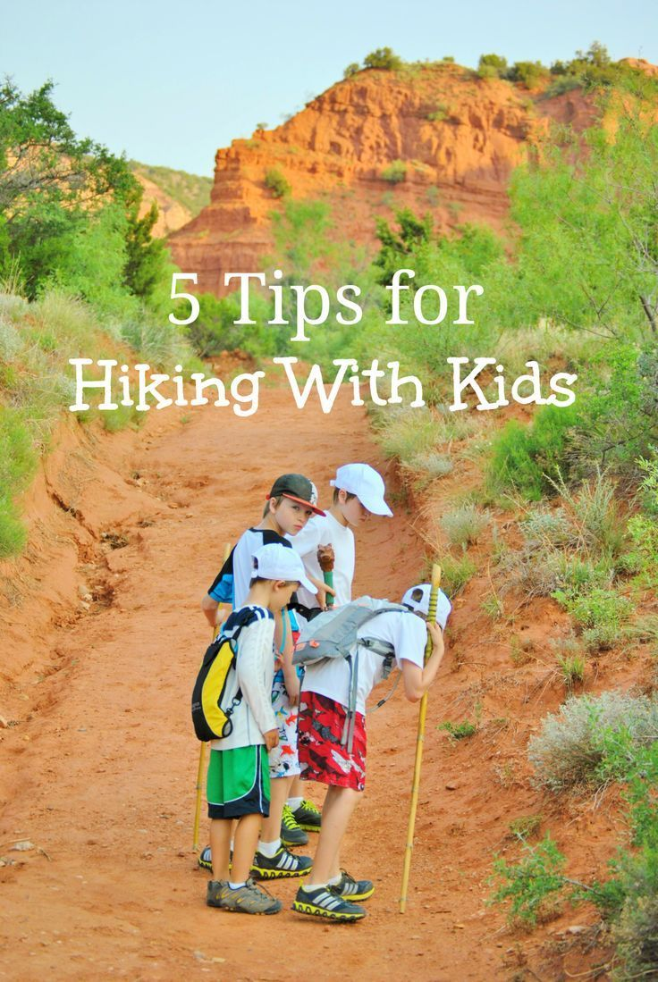 Great tips for #hiking with kids