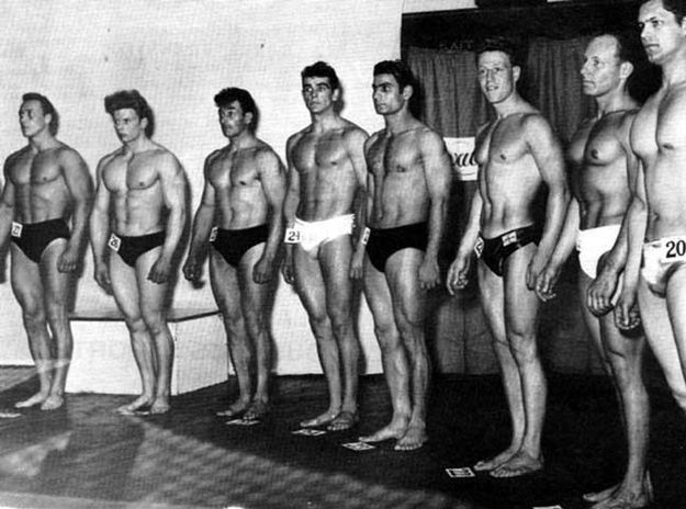 Buff Sean Connery In Mr. Universe Competition