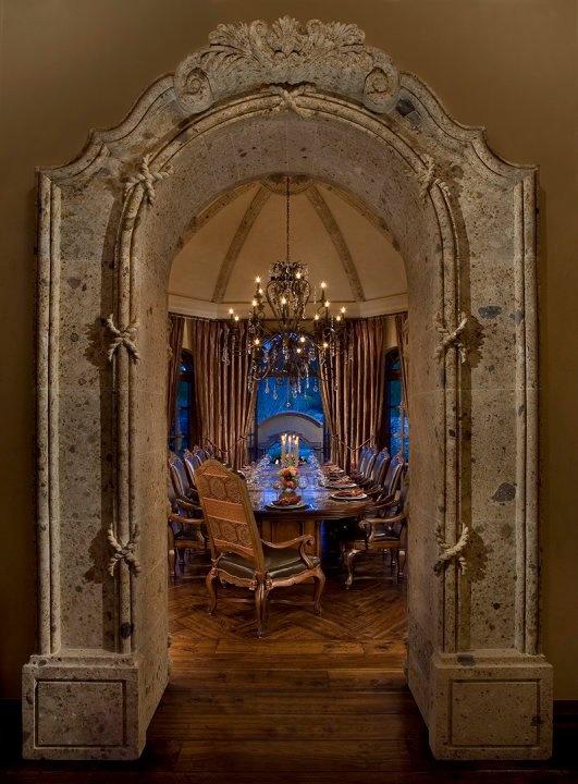Formal Dining Room Entrance