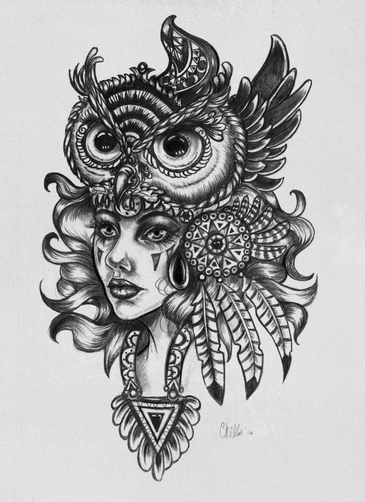 Owl Queen by Veavictis on DeviantArt
