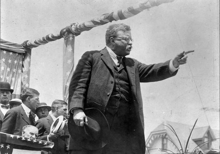 June 23,  1904: PRESIDENT THEODORE ROOSEVELT IS NOMINATED FOR A SECOND TERM  -   President Theodore Roosevelt is nominated for a second term of office at the Republican national convention in Chicago.