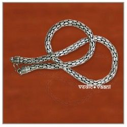 Snake silver chain–thick–Design III