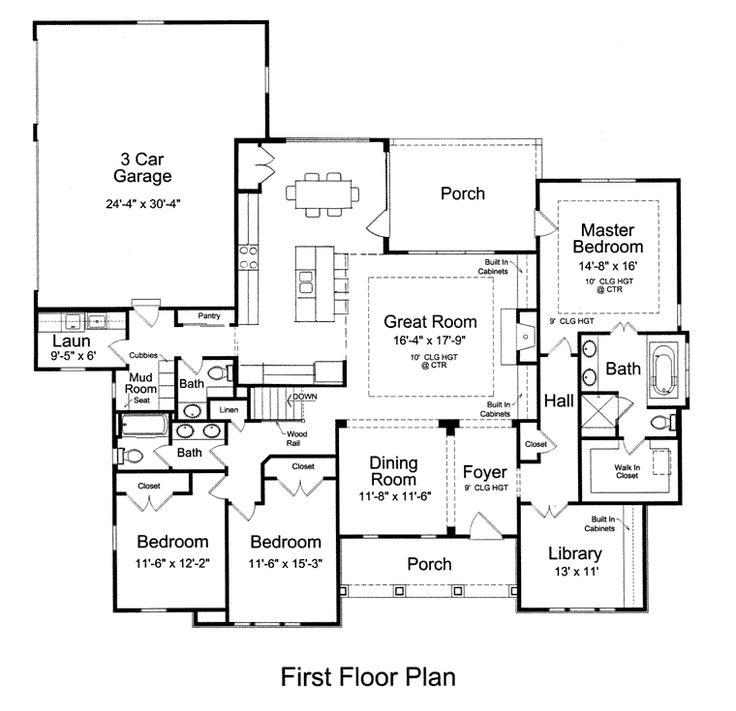 craftsman ranch house plan 92604