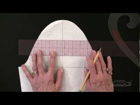 ▶ Pattern Making: Straight Sleeve Sloper: Full Tutorial - YouTube- (good video)