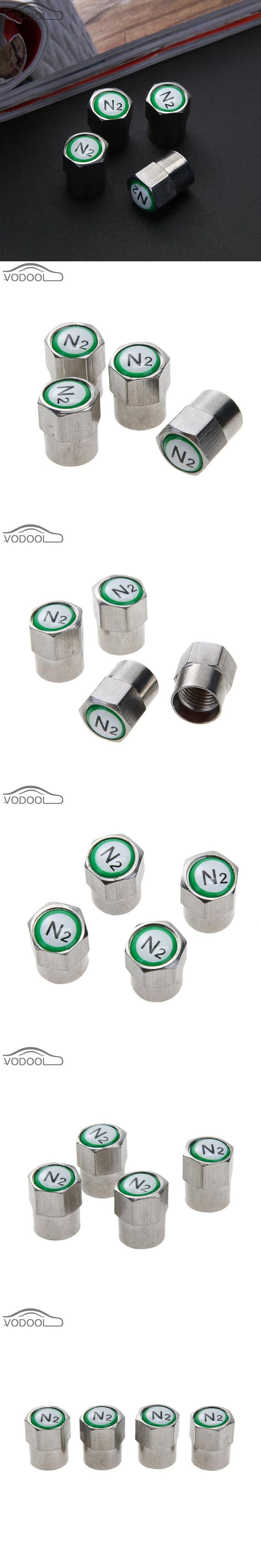 4Pcs Chrome Plated Copper Car Wheel Tire Tyre Valve Stem Cap Dust Covers for Schrader Valves Motorcycle Bicycle Electric Vehicle