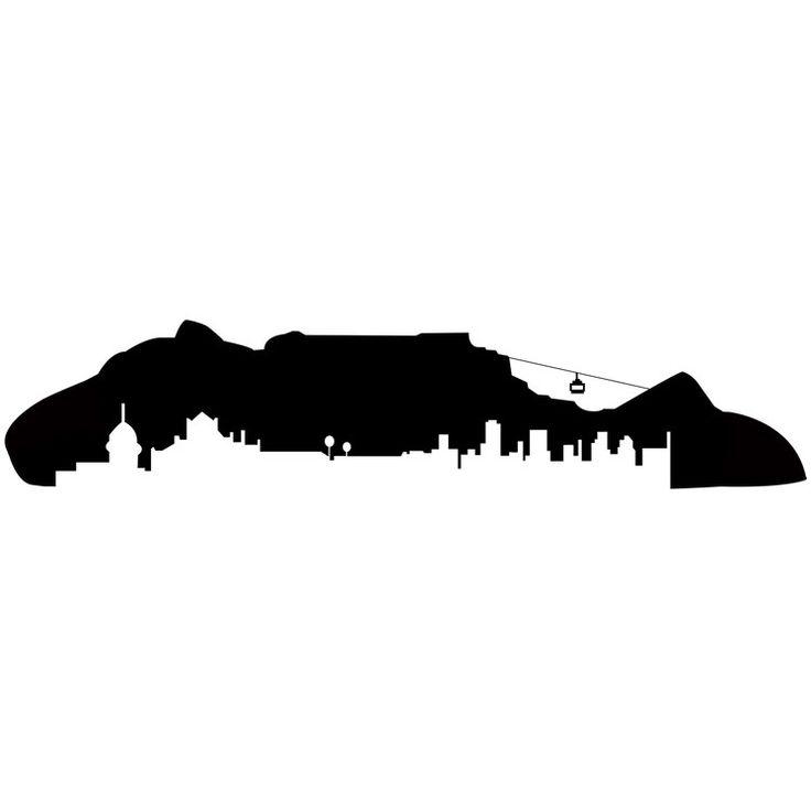 cape town silhouette - Buscar con Google