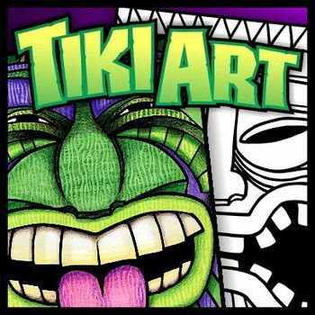 Tiki Art - Art Activities and Resources - art lesson