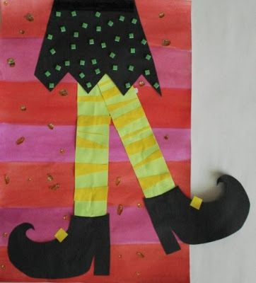a faithful attempt: Wacky Witches Legs