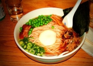 Korean food to discover if you haven't yet. The Ramen is so tasty! The noodles are so fresh. East Village.