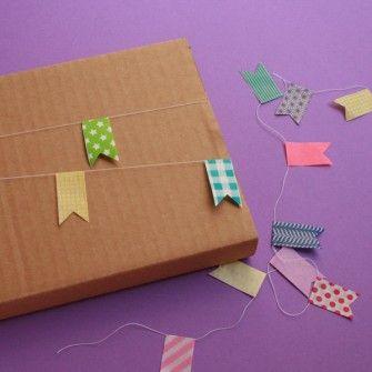 Guirlande masking tape