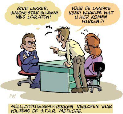 Benoem jouw praktijkvoorbeelden tijdens het sollicitatiegesprek volgens de STAR(R) methode. Zie hiervoor http://www.carrieretijger.nl/carriere/solliciteren/sollicitatiegesprek/gesprekstechnieken/star