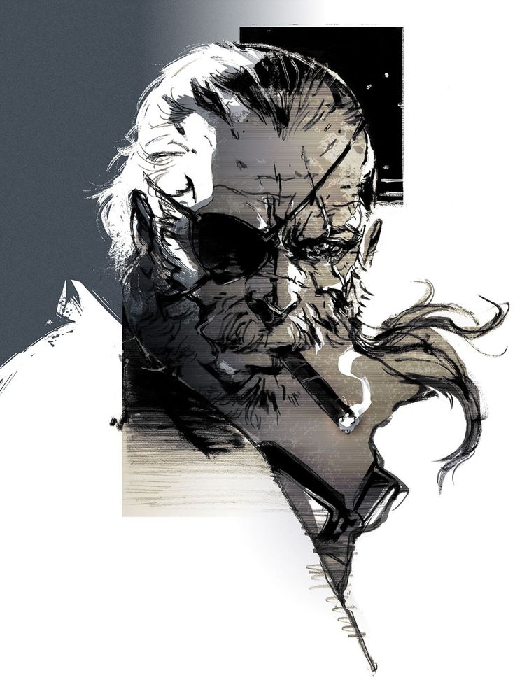 Big Boss from Metal Gear Solid V