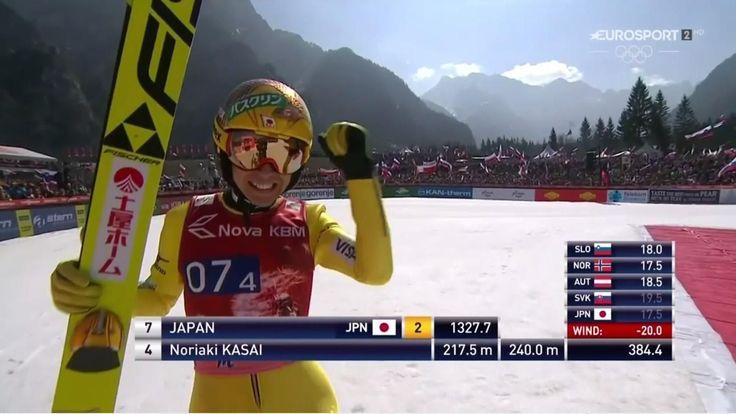 L'immortale Noriaki Kasai: salta 240 metri a 44 anni di età