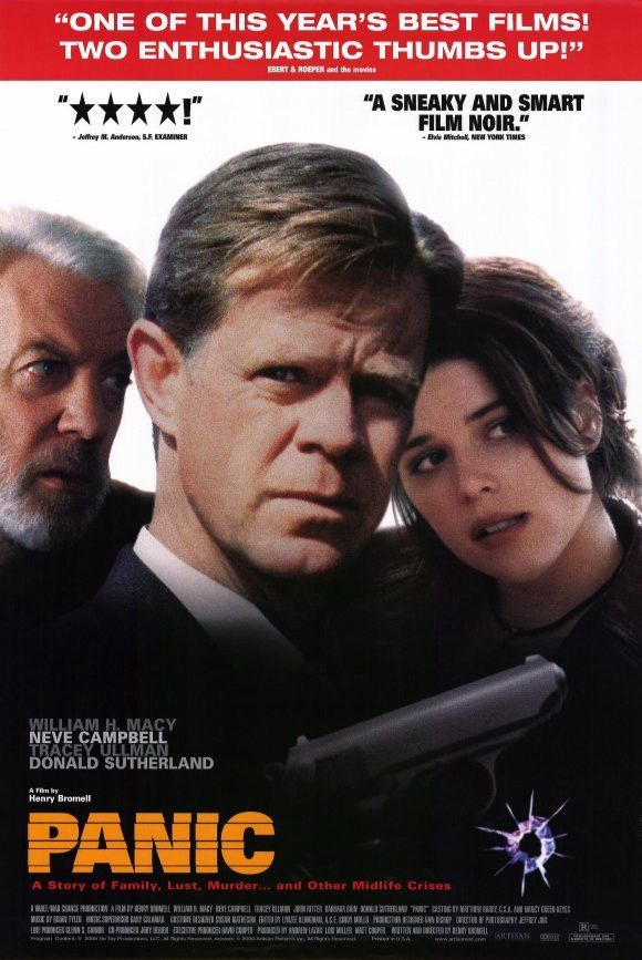 Panic 2000 Movie Poster 27x40 Used William H Macy, John Ritter, Donald Sutherland, Tracey Ullman, Neve Campbell