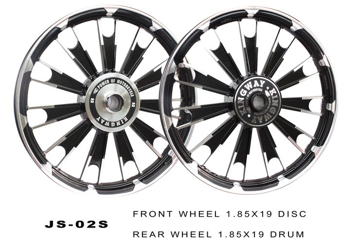 Buy ALLOY WHEEL BLACK D3 ROYAL ENFIELD KINGWAY On Special Discount From Safexbikes.com - Motorcycle Parts And Accessories Online Shopping