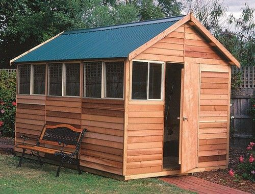 Buy Quality Durable Cedar Timber Garden Sheds In Melbourne At Shed Bonanza.  Our Garden Sheds Are Highly Durable And Are Available In Range Of Colors  For You ...