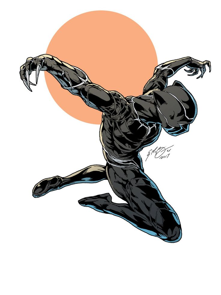 Heroes and Villains, extraordinarycomics:   Black Panther by Everard...