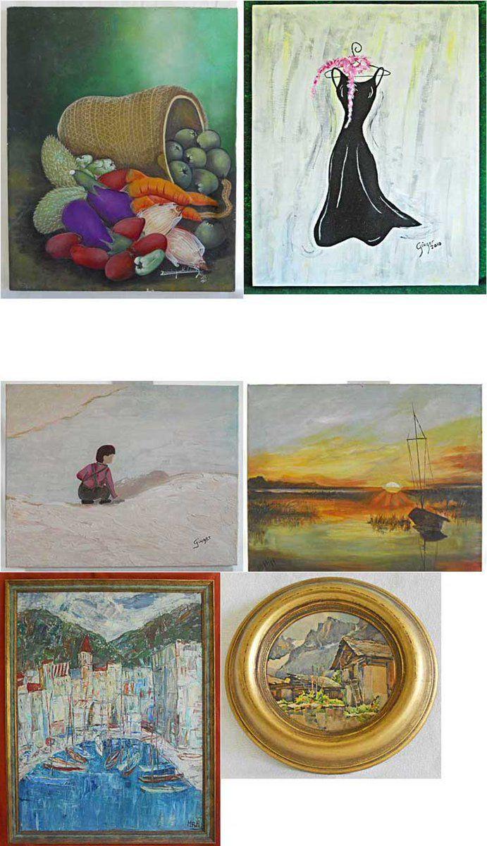 Original watercolor art for sale -  12 Twitter Paintings For Salevintage Paintingsoriginal