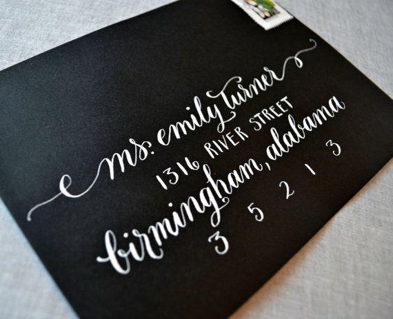 Handwritten+Calligraphy+Envelope+Addressing++by+GraceCalligraphy,+$2.00