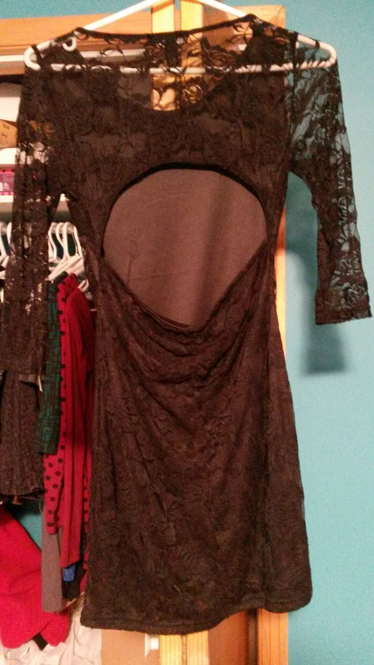 Size small dress (back shown). $10