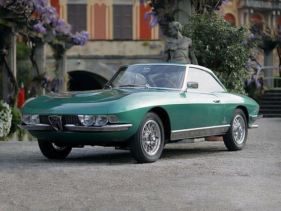 Alfa Romeo 2600 Coupe Speciale Pininfarina 1963