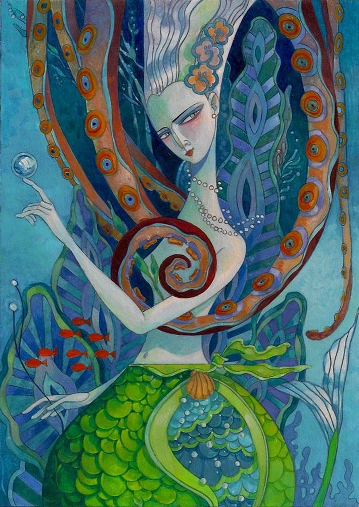 The Coquettish Mermaid by David Galchutt