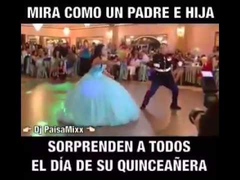 Padre e Hija Sorprenden con Baile en Fiesta de 15