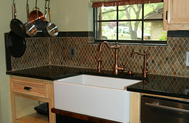 slate backsplash pictures uba tuba granite kitchen more kitchen sink