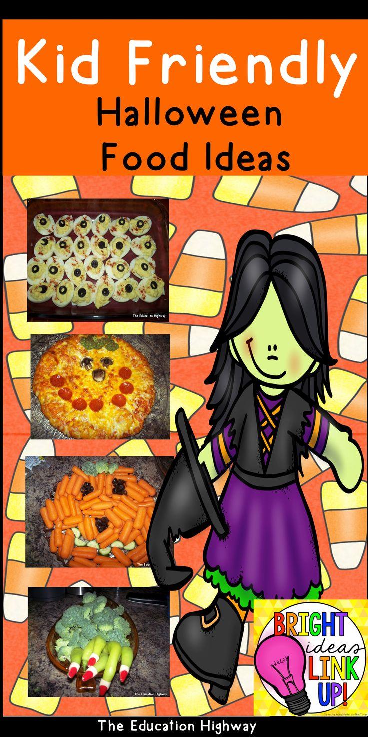 october bright idea blog hop kid friendly halloween food ideas for parties monster treats. Black Bedroom Furniture Sets. Home Design Ideas